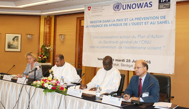 Investing in Peace and Violence Prevention in West Africa and the Sahel, Dakar - 27 June 2016