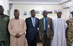 UNOWAS and MISAHEL Representatives meet with the MNJTF in Chad