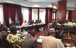 Meeting of heads of delegations of the Cameroon-Nigeria Mixed Commission, Yaoundé 06 June 2016